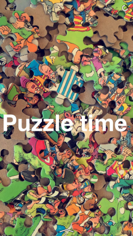 Puzzle Time Snap
