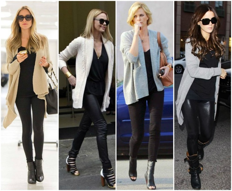 Celebrity Leggings Outfits