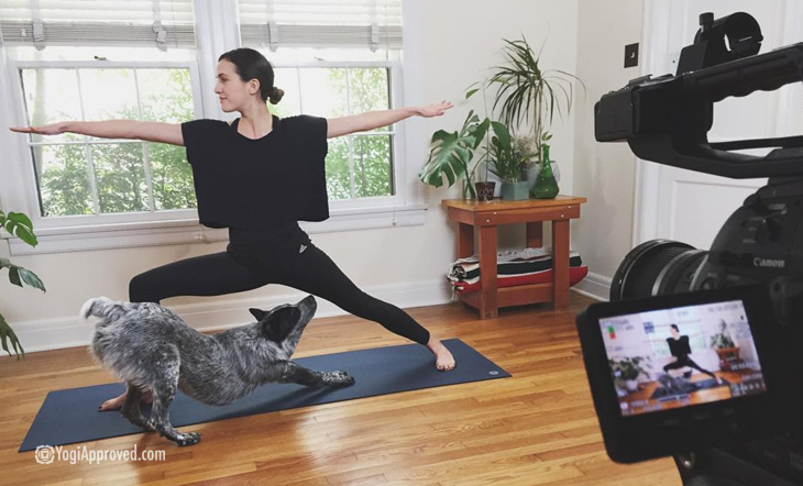 Yoga With Adriene behind the scenes
