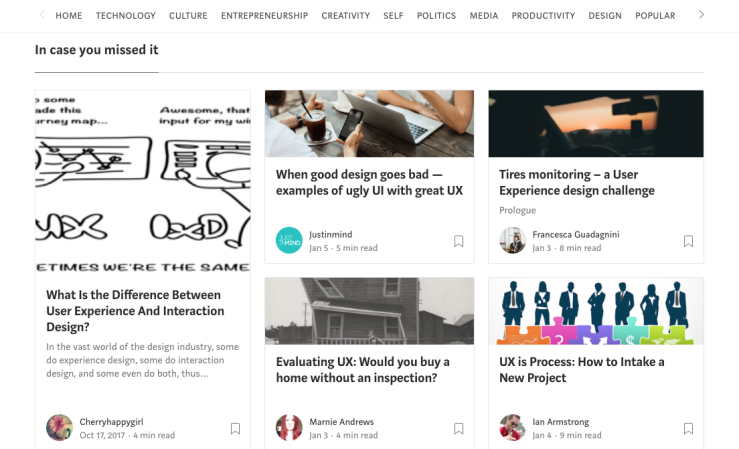 Medium Daily Digest - Digital Design feed