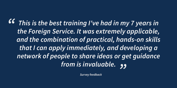 NEA Design Workshop Testimonial